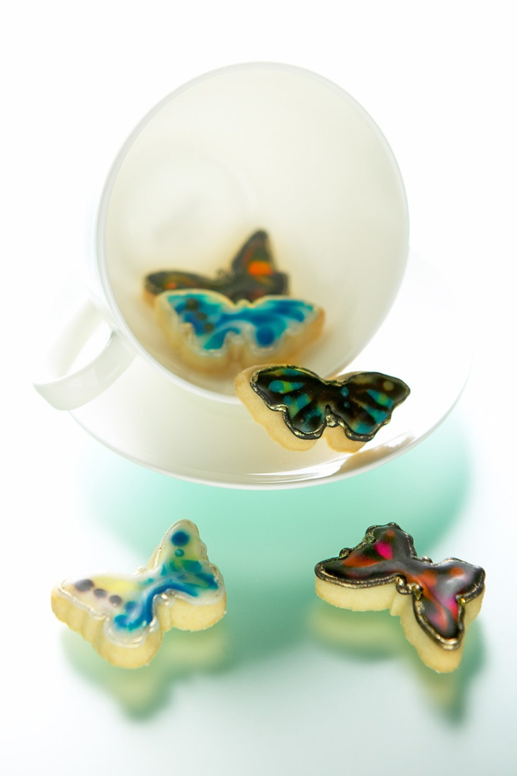 Mini Butterflies in Cup